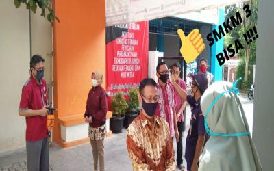 Rapat Kerja (RAKER) SMK Muhammadiyah 3 Tangerang Selatan Merancang Strategy Sekolah New Normal di Masa Pandemi Covid-19
