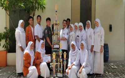 SMK Muhammadiyah 3 Tangsel Juara utama III dan juara KoPel ( Koempol Pelatih )