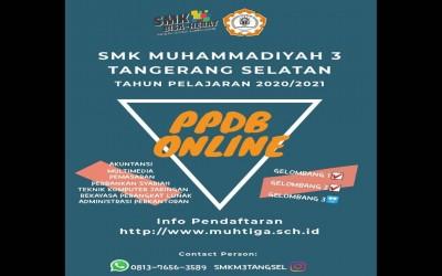 PPDB SMK Muhammadiyah 3 Tangerang Selatan - Gelombang 3 Ready